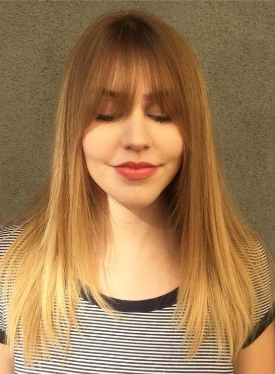 50 Layered Hairstyles With Bangs Bangs Pinterest Hair Styles