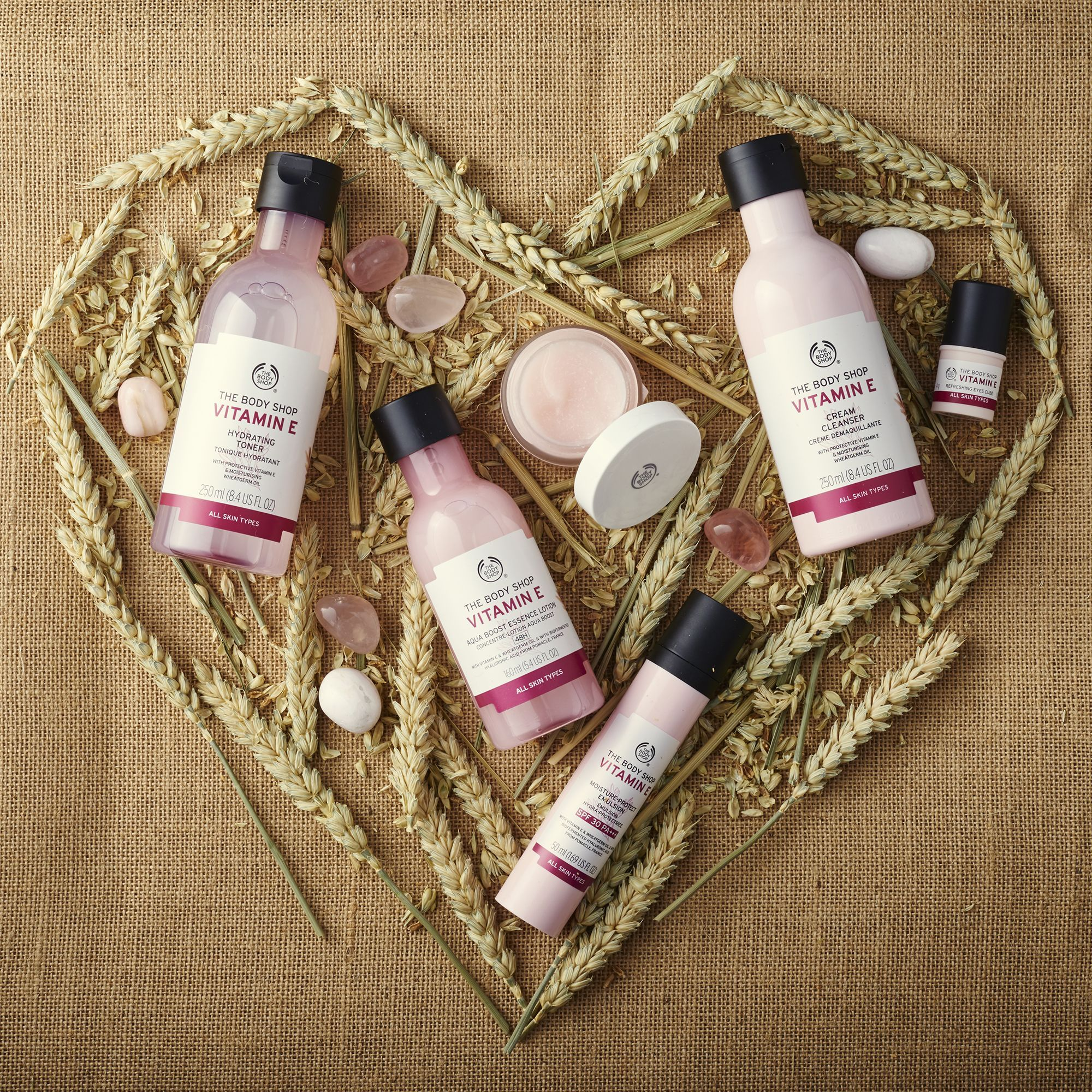 Introduce Iconic Vitamin E To Your Beauty Routine For 48 Hour Hydrated Skin Apply Our Vitamin E Moisture Cr Body Shop Skincare The Body Shop Body Shop At Home