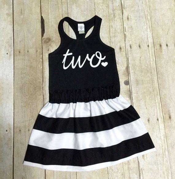 Girls Birthday Outfit, 2nd Birthday Shirt,ANY AGE, Girls