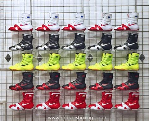 NIKE BOXING BOOTS - NOW FULLY STOCKED!!! Make sure you get your pair while  stocks last. Check them out in the link: ...