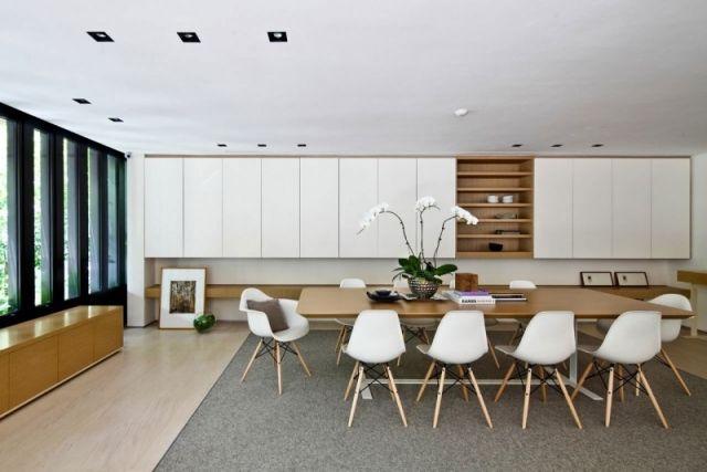 salle à manger contemporaine - 111 idées de design réussi | style ... - Chaises Contemporaines Salle Manger