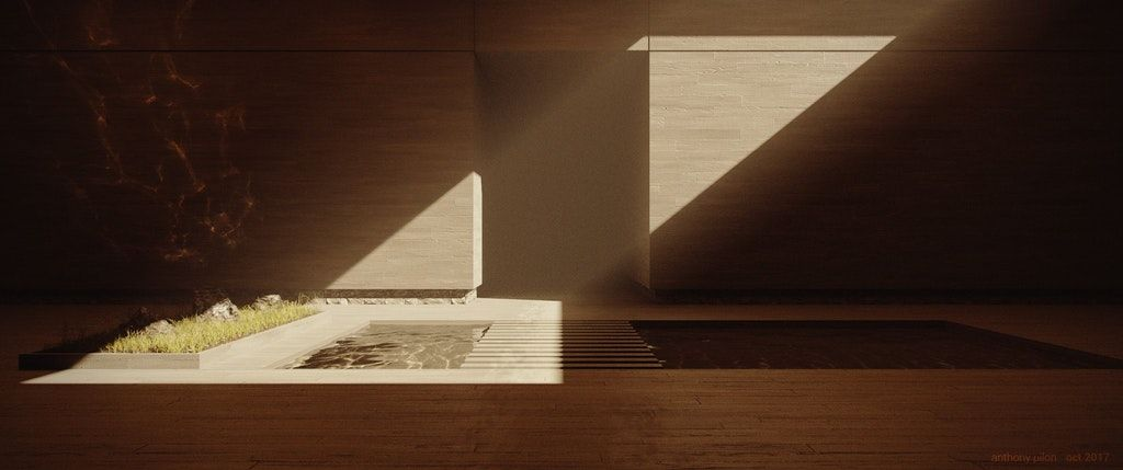 Simple Interior Inspired By Blade Runner 2049 Blender Blade Runner 2049 Blade Runner Simple Interior