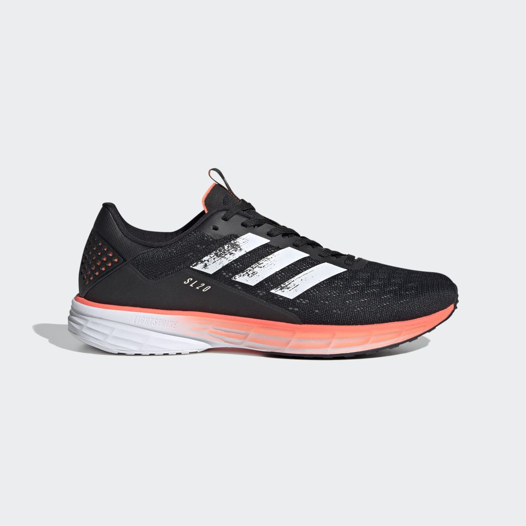 SL20 Shoes Core Black Mens in 2020 | Running shoes for men