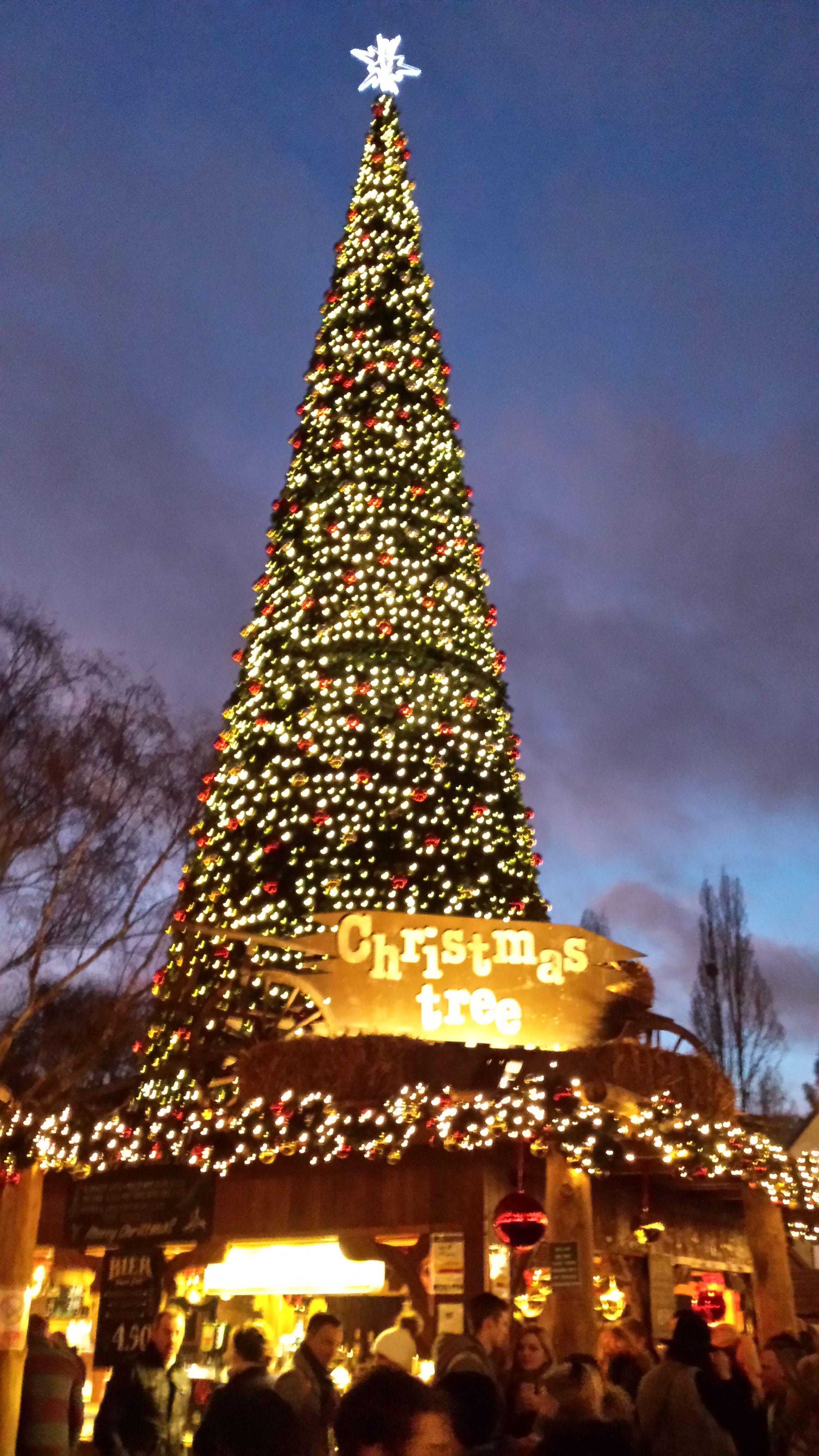 Christmas at Winter Wonderland, Hyde Park, London, England