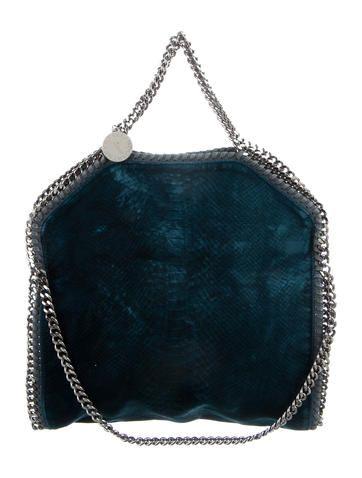 Couture Bags. Designer Purses. Computer Hardware. Blue-green textured velvet  Stella McCartney Falabella tote with gunmetal hardware ab041771c4385