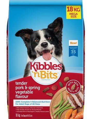 Kibbles N Bits Kibbles N Bits Pork Vegetable Flavour Dog Food