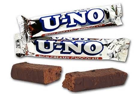U No Candy Bars If There Was Such A Thing As Chocolate Edible Clouds They Would Be The Ingredients For U No C Chocolate Candy Bar Candy Bar Candy Companies