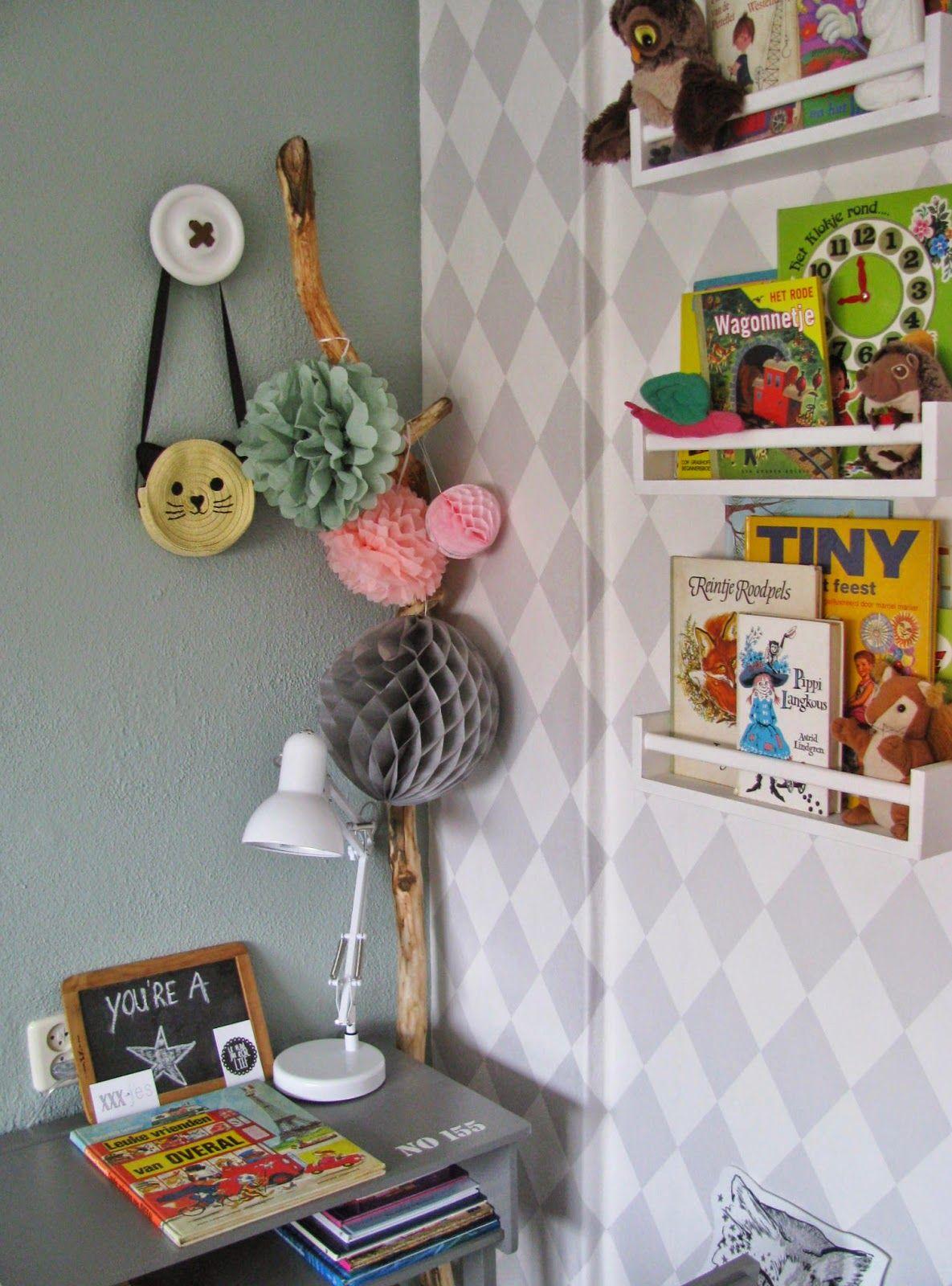 N Toefje Kleur Early Dew Babykamer Behang Kinderkamer Huisinrichting
