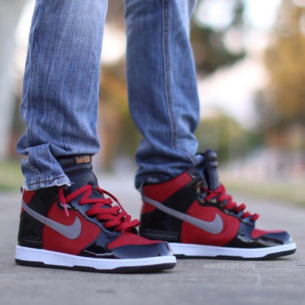 d40e95f1a9d Nike SB Dunk High Premium