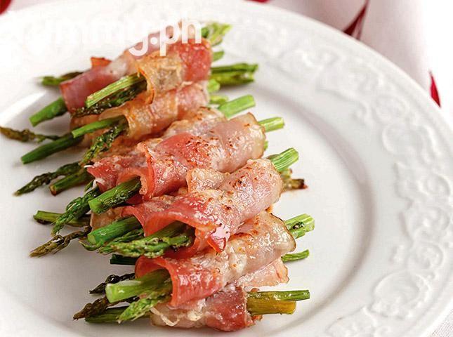 Bacon Wrapped Asparagus Rolls Recipe Recipes