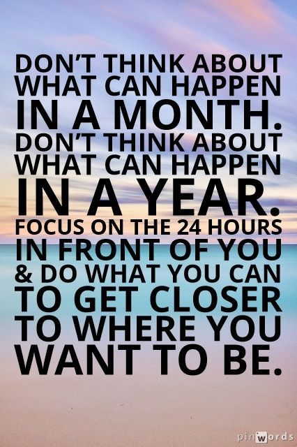Image result for focus on the smaller number pinterest quotes