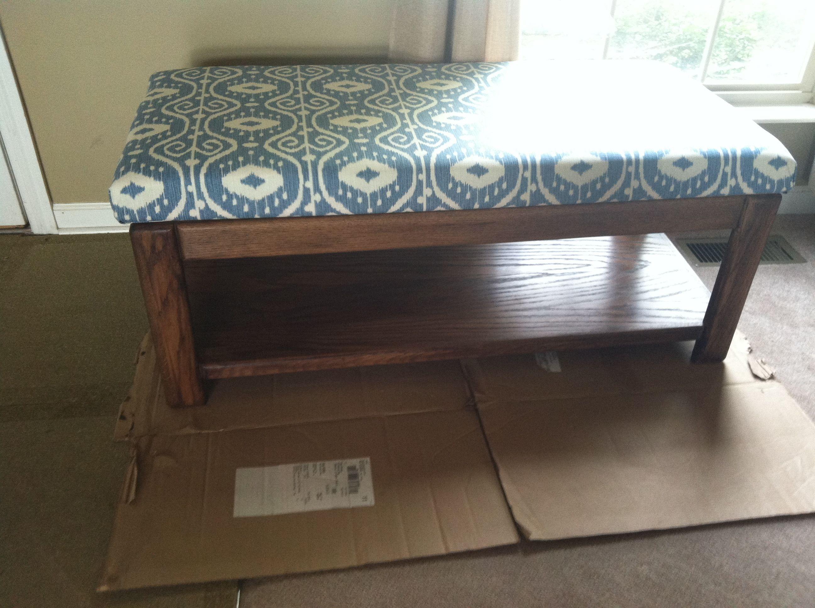 refurbished coffee table ottoman Home Sweet Home Pinterest