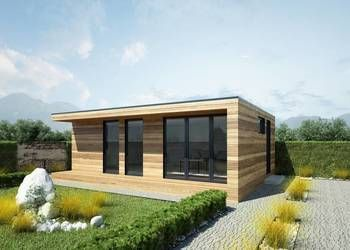 Modern summer house wooden houses year-round office