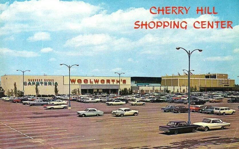 Cherry Hill Mall In The 1960 S With Images Cherry Hill Mall