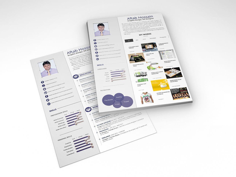 Free Swiss Style Resume Cv Psd Template Creative Resume Template Free Best Free Resume Templates Free Resume Template Word