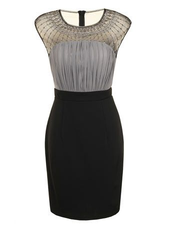 Floral lace bodycon dress - Little Mistress - View All Clothing Brands - Clothing