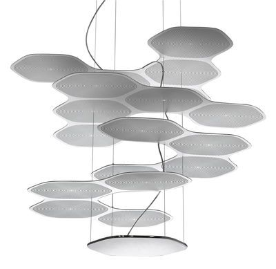 Suspension Space Cloud LED Aluminium Artemide Décoration et