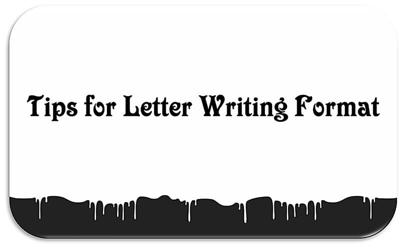 Pin on Letter Writing Format