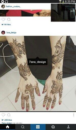 Instagram Mehndi Design Images Henna Designs Unique Henna