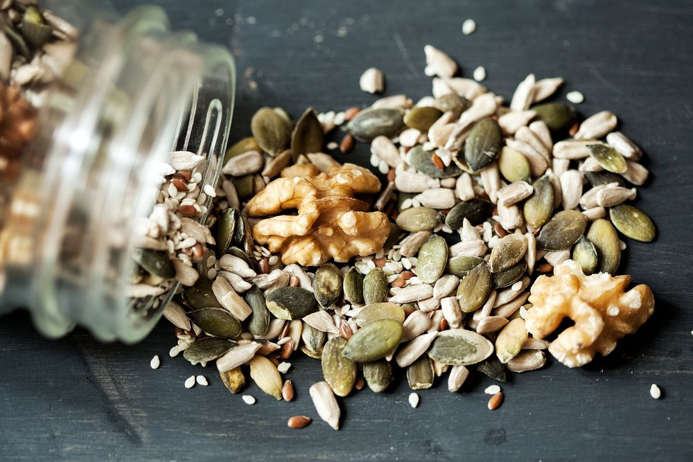 seeds and nuts can alleviate constipation