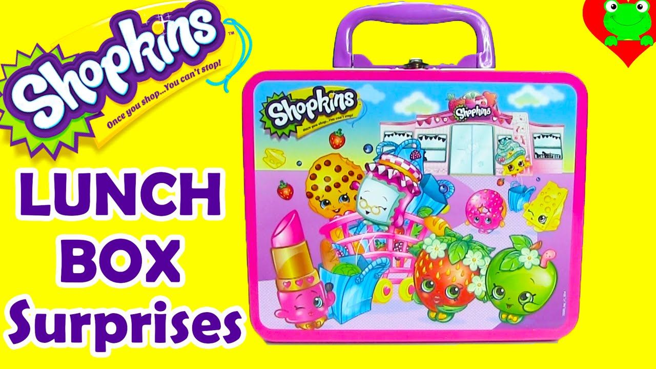 Shopkins Lunch Box Surprises Frozen Sophia The First Tmnt
