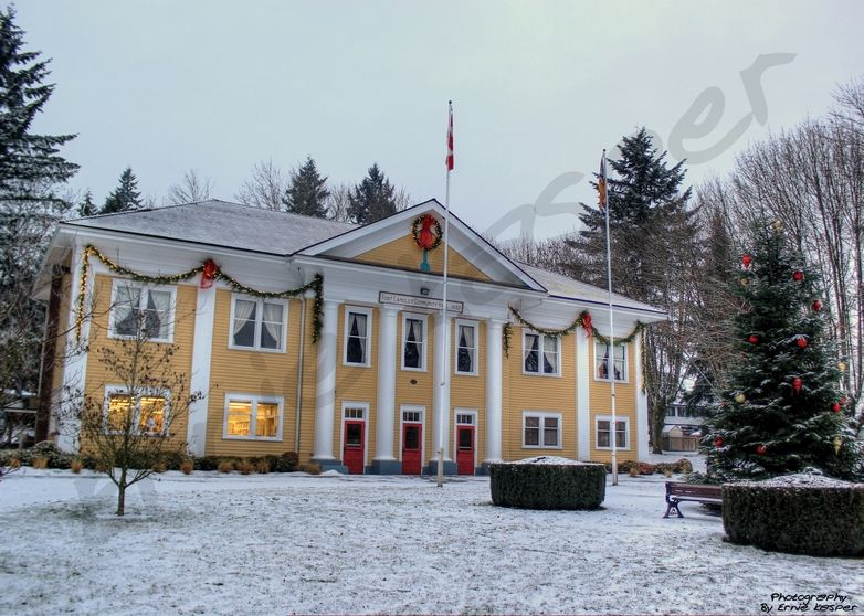 #snow #beautiful #scenery #photography by Ernie Kasper #langley #community