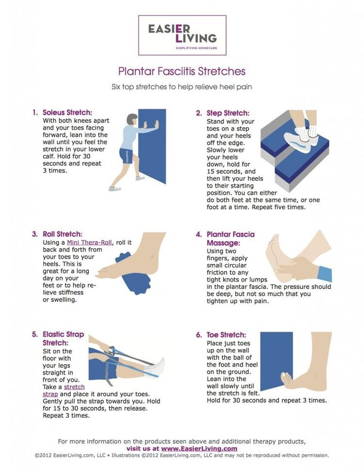Vibrant image with plantar fasciitis exercises printable