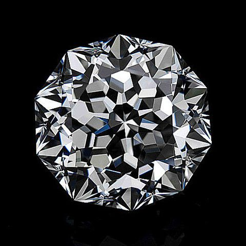 The Meteor Cut was born on 10/10/10. This superb diamond cut has a decagonal shape, and its 10 straight walls are wondefully built of 71 facets. It took 10 months of dilligent work and persistent attempts to overcome the technical challenges, in order to cut the diamond with flawless symmetry, each facet perfectly angled, so that it radiates dazzling brilliance. With its exceptional luminosity and endless refraction of light, any Meteor Cut diamond is easily recognized at first glance.