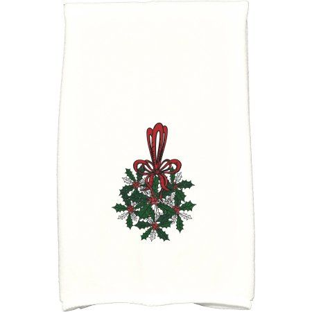 Simply Daisy 16 Inch X 25 Inch Traditional Mistletoe Holiday