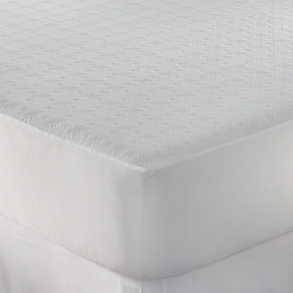 Sealy Posturepedic Maximum Protection Mattress Protector White