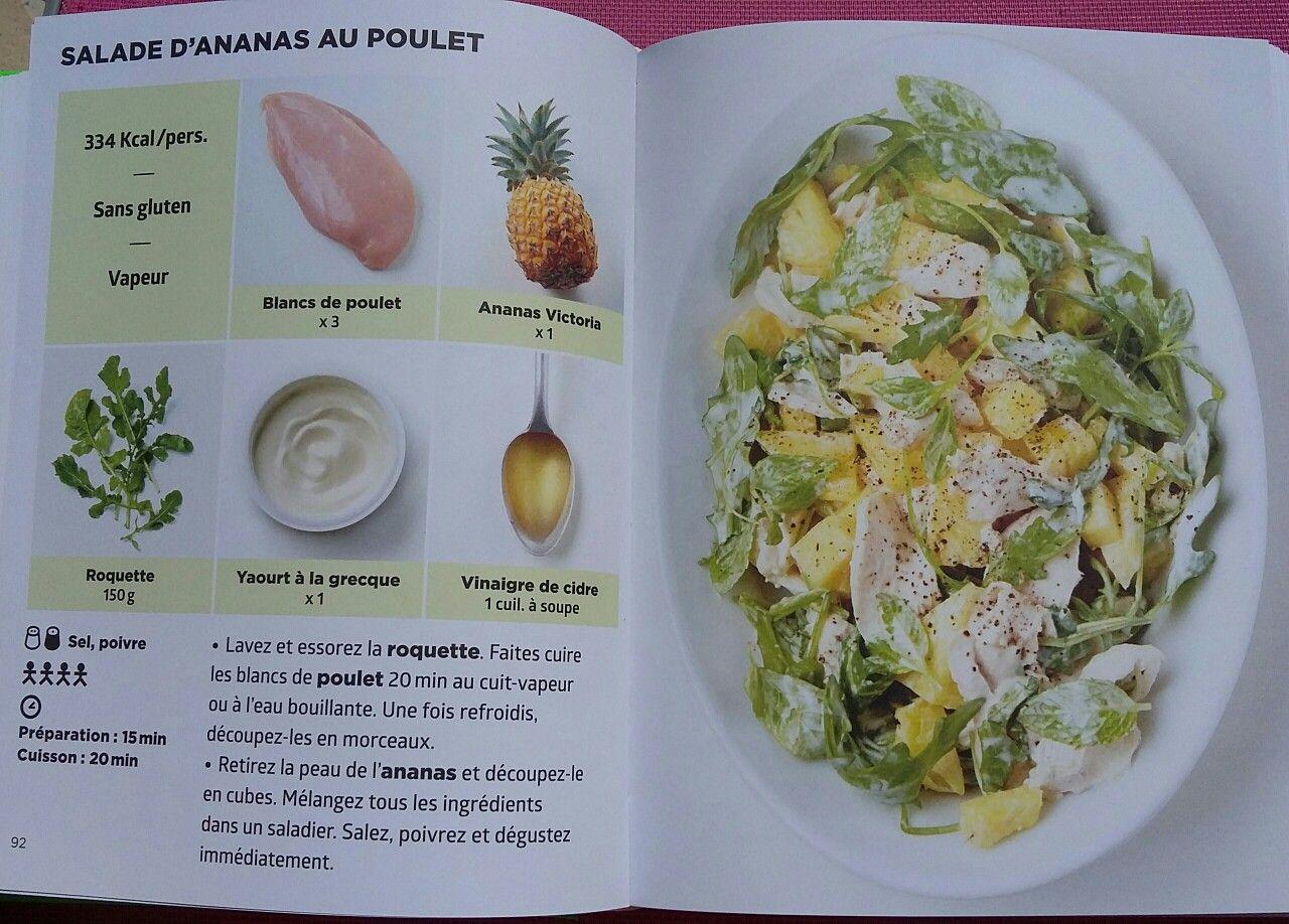 salade d 39 ananas au poulet simplissime light pinterest le poulet poulet et salades. Black Bedroom Furniture Sets. Home Design Ideas
