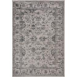 benuta Teppich Velvet Grau 160x230 cm - Vintage Teppich im Used-Look benuta #modernvintagedecor