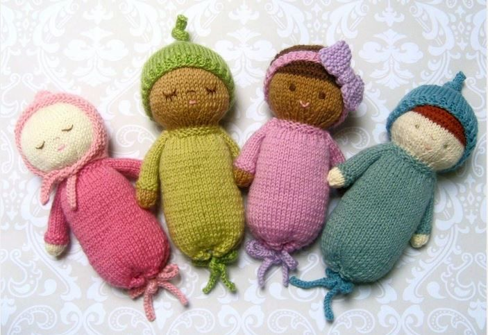 Photo of Knit Baby Doll Patterns