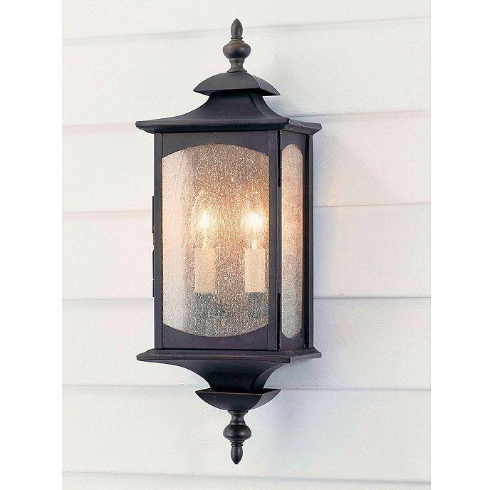 Concord 2 Light Outdoor Sconce, Ballard Designs Outdoor Lighting