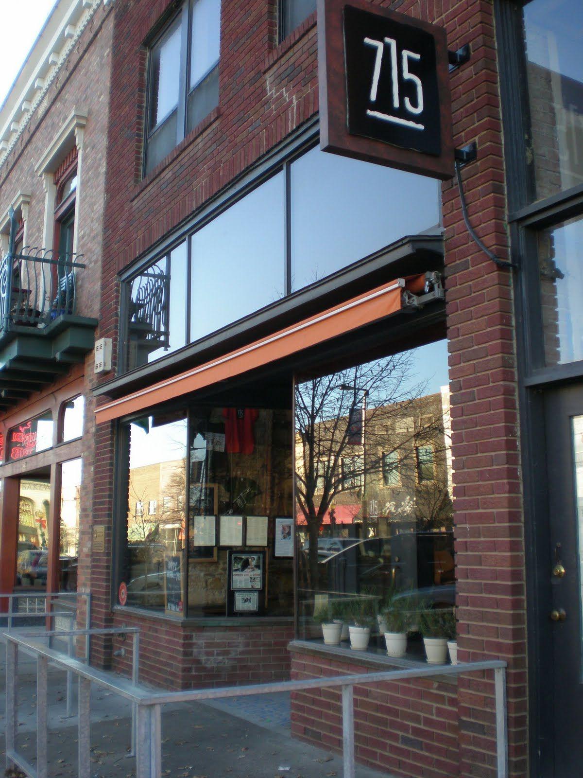 715 Restaurant Lawrence Kansas I Want To Go Here