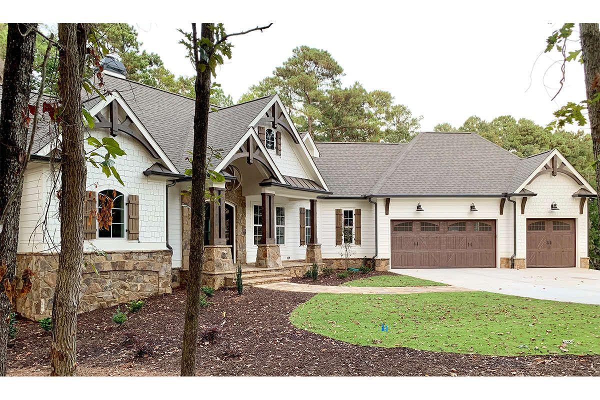Craftsman House Plan 286