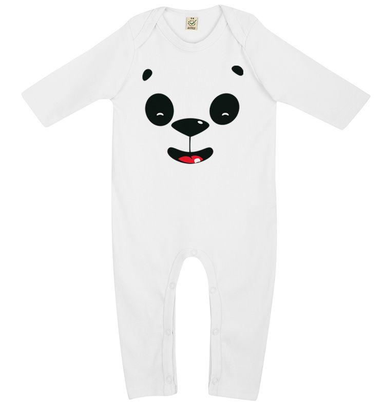 Pyjama Panda Rieur by Jack Mu - Bébé TSHIRT - Livraison Gratuite