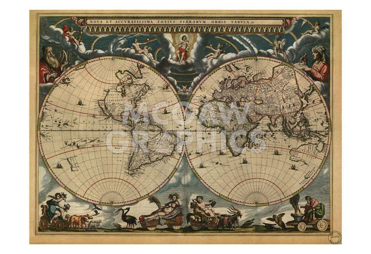 World Map 1664 World Map 1664