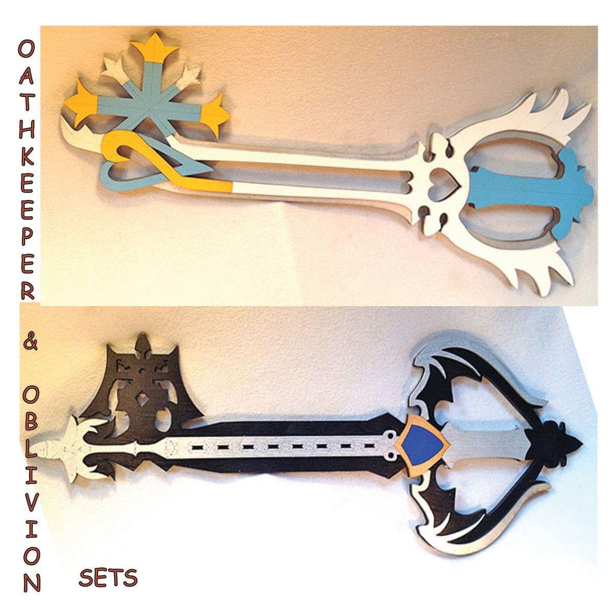 Radient Disney Square Enix Kingdom Hearts Metal Keyblade Cosplay Or Decor Collectibles Knives, Swords & Blades