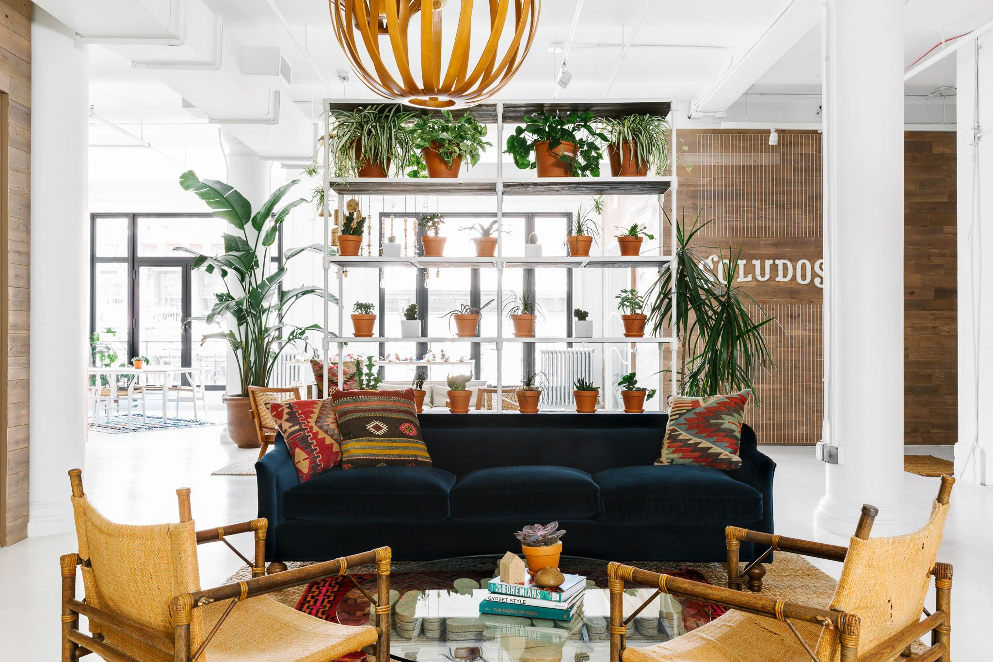 A Vibrant and Stylish HQ for Soludos
