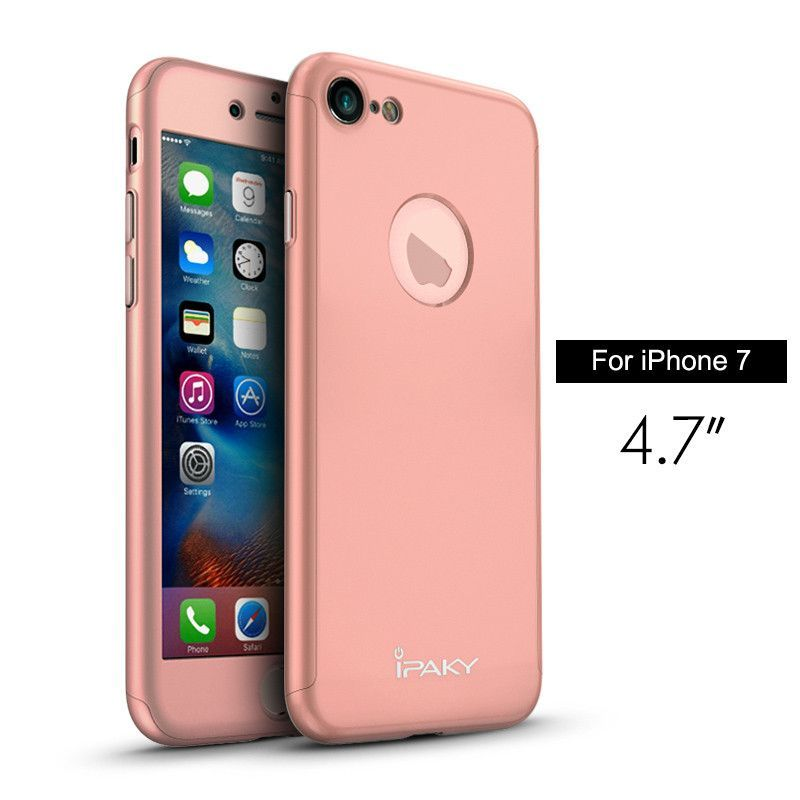 iphone 7 plus case tempered glass