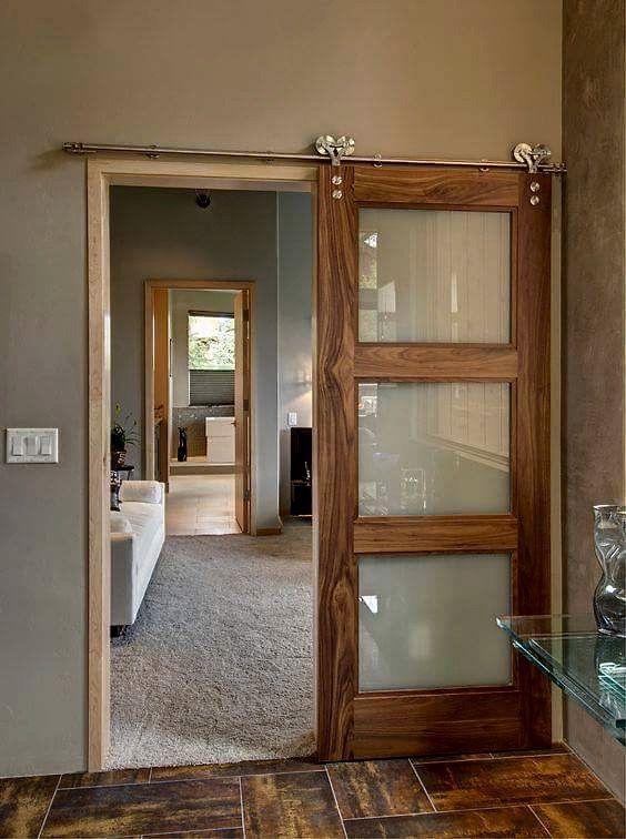 Puerta corrediza decor pinterest puertas corredizas for Puertas corredizas internas