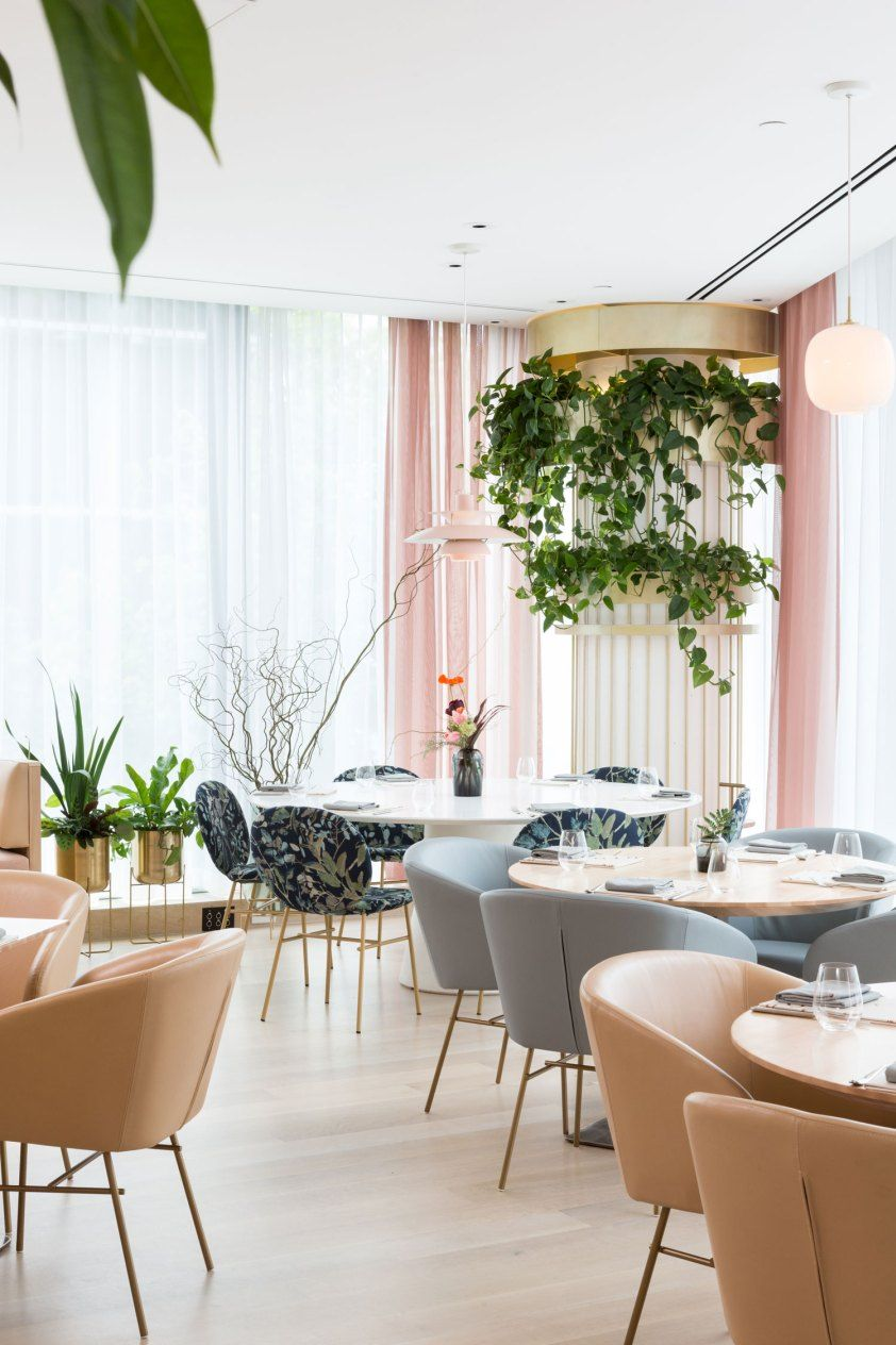Mobilier Cafe Restaurant The Botanist Restaurant In Vancouver Canada By Ste Marie Chic