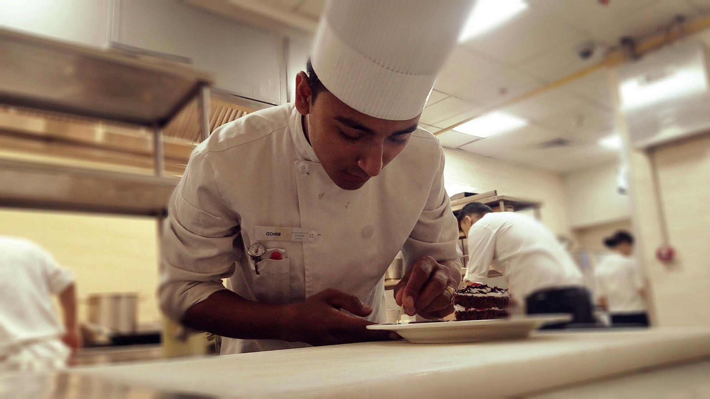 Decoration On Plate Chef Duwal Binod Chef Jackets Decor Plates