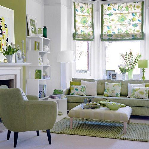 Fresh Green Living Room Fresh Living Rooms Decoration Ideas