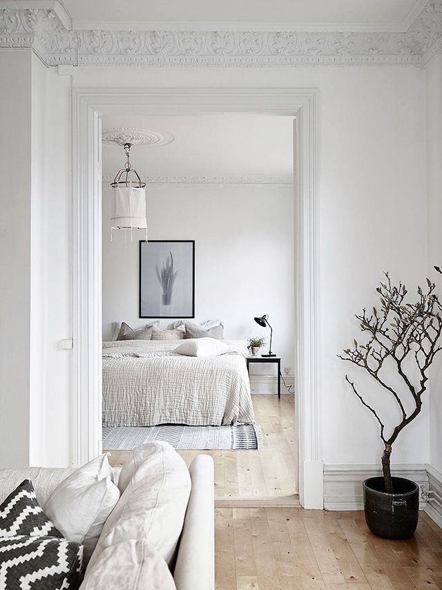 Good Nordic Style Bedroom Interior Design
