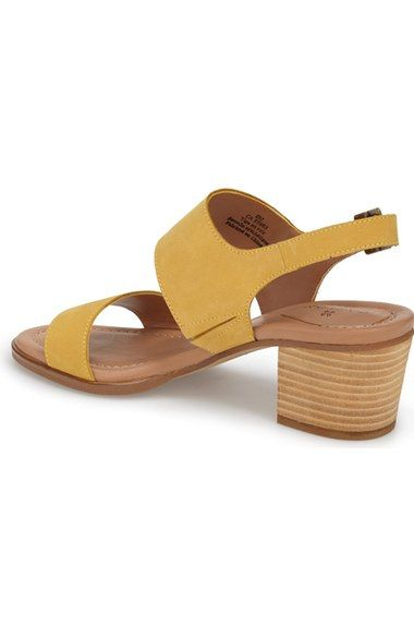c2e81346532 Free shipping and returns on Caslon®  Carden  Block Heel Slingback Sandal  (Women