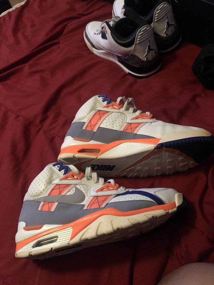 e109474f60ff7 Nike Air Trainer SC High Bo Jackson Shoes 302346-106 Zen Orange Size 9   fashion  clothing  shoes  accessories  mensshoes  athleticshoes (ebay link)