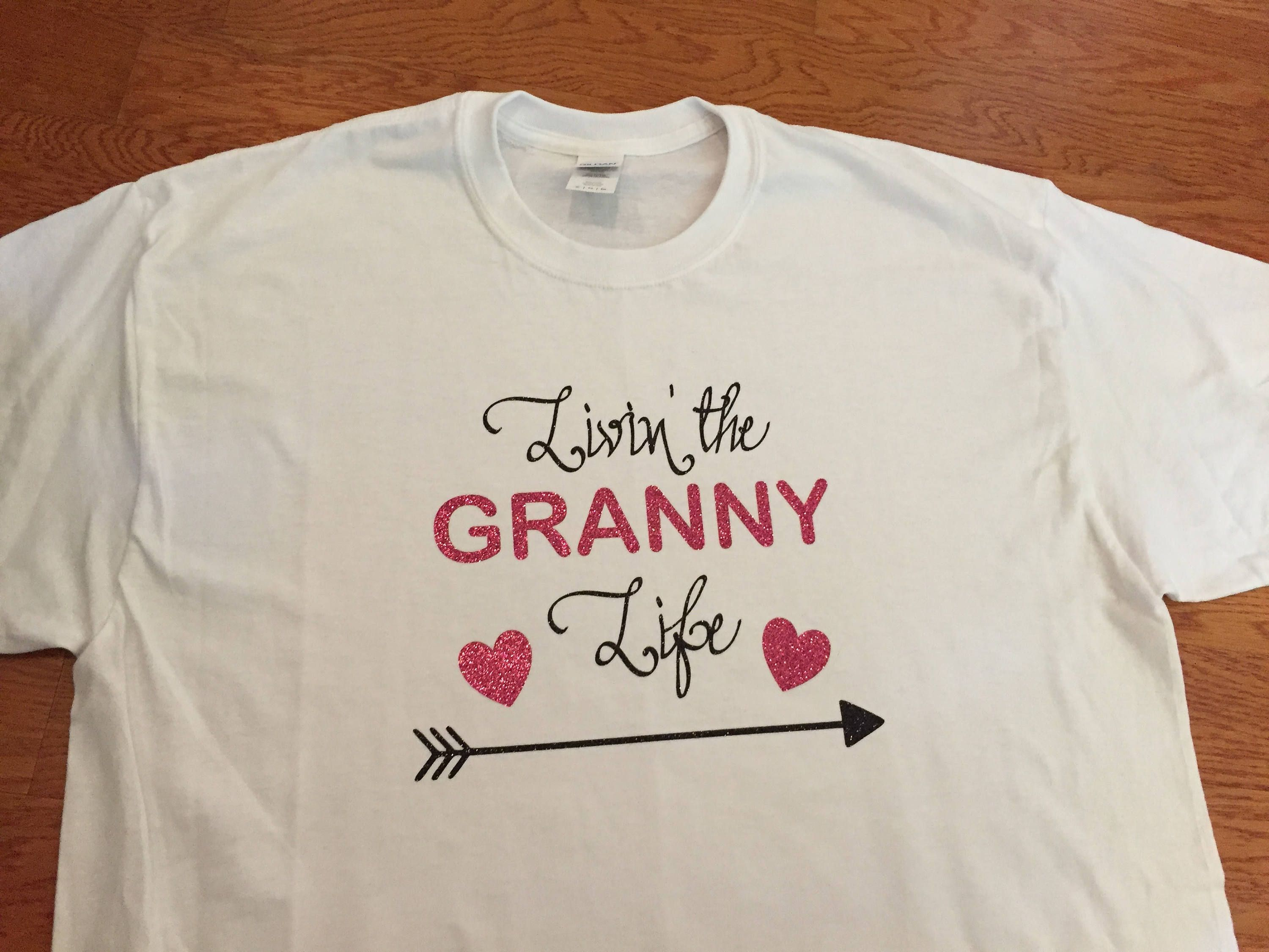 Living The Granny Life Grandmother Shirt Grandmother Tee