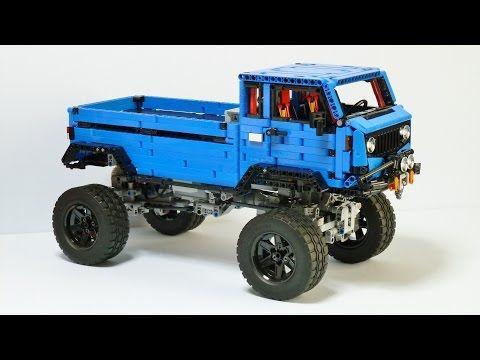 [MOC] Jeep Mighty FC Concept - LEGO Technic, Mindstorms & Model Team - Eurobricks Forums
